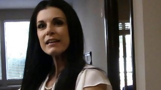 Real estate agent MILF India is horny and fucks her client image