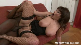 All Busty And Horny_Mom Sex With Big Black Cock image