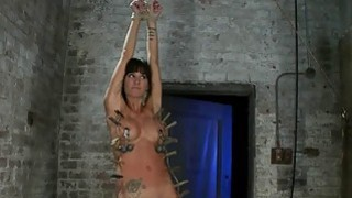 Hogtied Isis Love and Gia DiMarco Bondage Action image