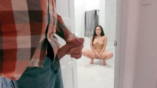 Gabriella Paltrova is playing with_the pussy plug image