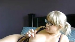Blonde amateur Mature With Big Tits image