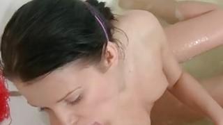 Image: Horny sexdoll fucks in the bathroom scene 2