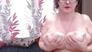 Big Tit mature Homemade Teasing image