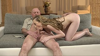Teen fucked by her boyfriend's father image