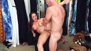 Image: Big titted Ariella Ferrera gets pussy drilled by Johnny Sins