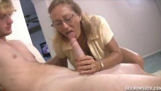 Milf And Teen Suck And Slobber A Big Cock image