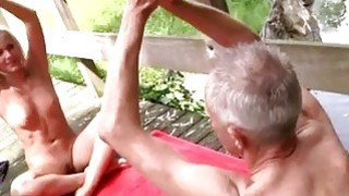 Old granny big tits lesbian His recent interest is yoga_because that image