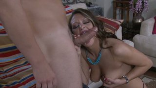 Brazen_hussy_Carmen_McCarthy_give_a_hot_blowjob_and_and_gets_pinnes_roughly image