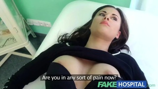 Fake Hospital Treatment make patient moan with pleasure image