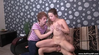 Fuck for_cash with threeway elements » remove cloth for cash Porn scene image