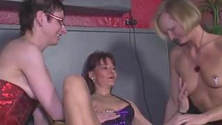 MMV FILMS Amateur Mature Lesbian Threesome image