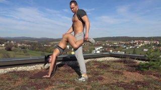 Merging Yoga With Sex - German Porn image