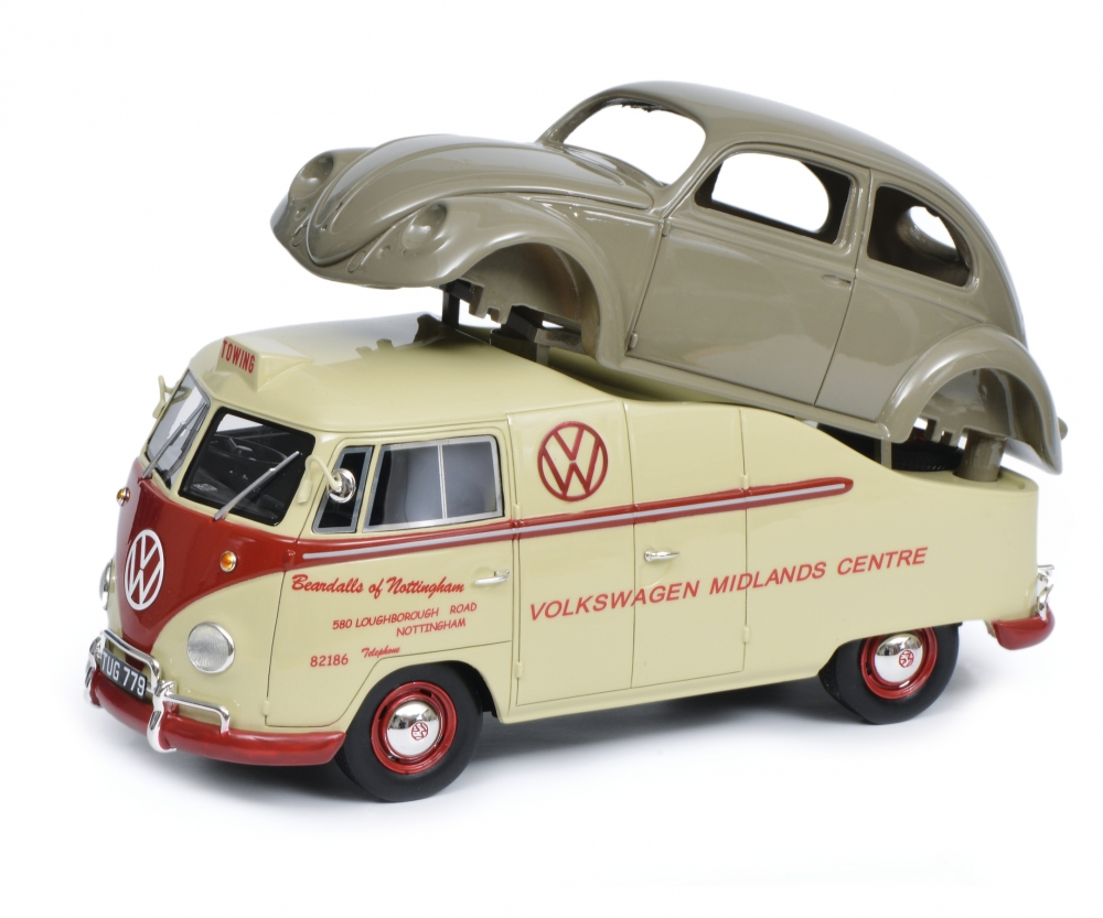 hight resolution of vw t1a midlands centre wiht beetle chassis 1 18 pro r 18 box van models models www schuco de