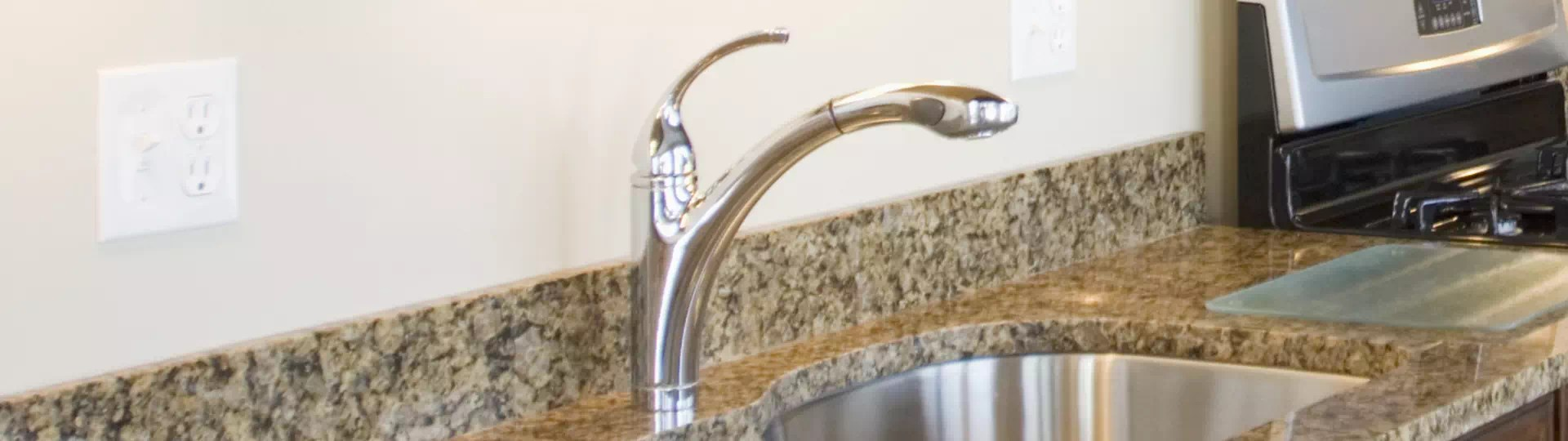 to clean stainless steel kitchen faucet