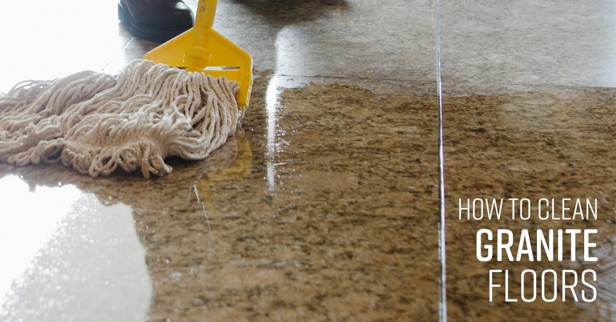 how to clean granite floors simple green