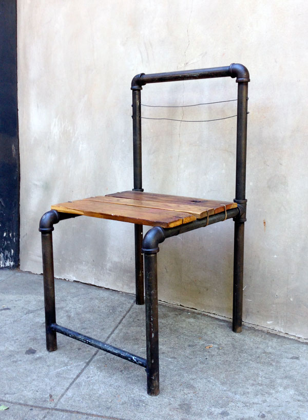 5 Industrial Style Pipe Chairs  How to Build Them