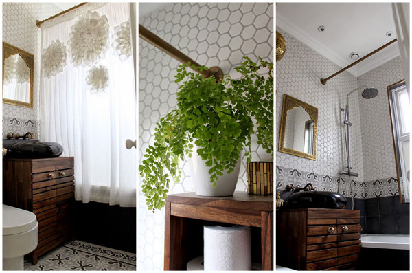 create an antique curtain rod for your