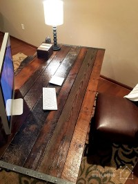DIY Rustic Desk: Plans to Build Your Own | Simplified Building