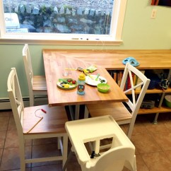 Diy Kitchen Tables Three Hole Faucet 51 Table Ideas Built With Pipe Simplified Building Butcher Block Shelf