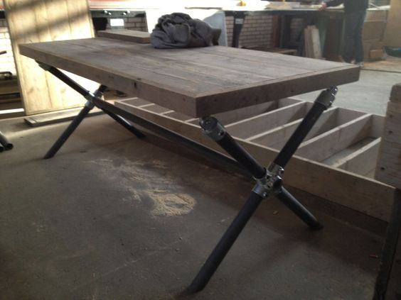 51 diy table ideas built with pipe