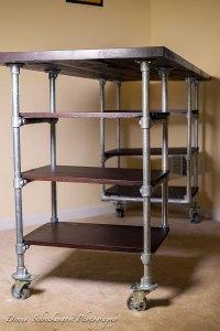 Industrial Pipe Desk & Shelving Plans   Simplified Building