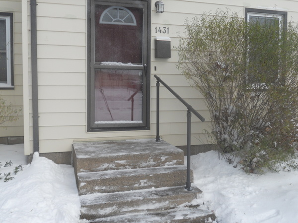 Concrete Steps Handrail Kits
