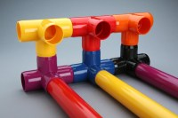 Color Furniture Grade PVC Fittings Now Available