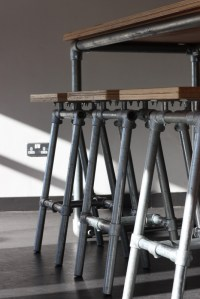 Industrial Stools, Benches and Tables at Famous Dublin