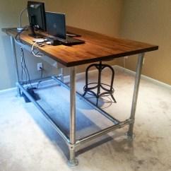 Counter Height Computer Chair Ergonomic Reviews Diy Standing Desk