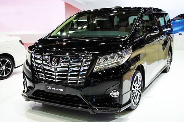 all new toyota alphard 2018 indonesia headlamp grand avanza welcome first luxury limousine in