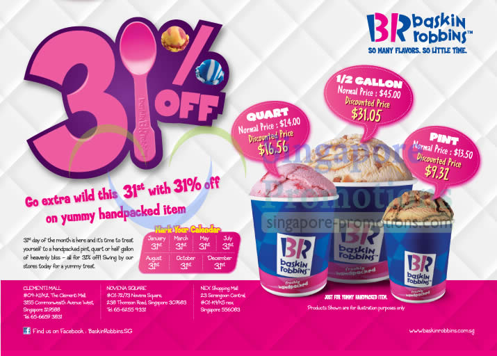 best baby chairs for toddlers ozark trail folding chair replacement parts baskin-robbins 31% off ice cream @ islandwide 31 dec 2012