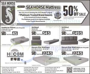 Sea Horse 50 Off 25 Jul 4 Aug 2017