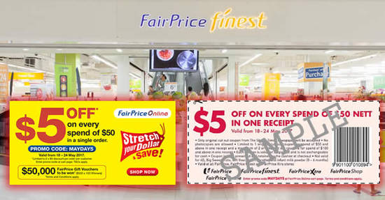 Fairprice feat 18 May 2017