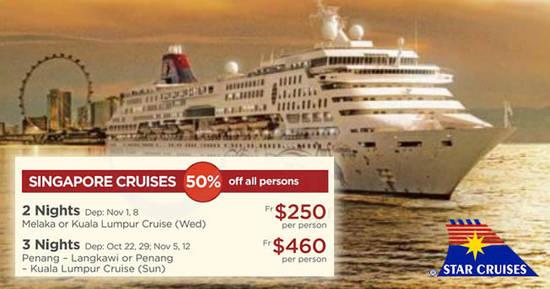 Star Cruises feat 13 Oct 2017