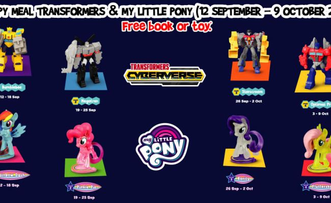 Mcdonald S Latest Happy Meal Toys Features Transformers