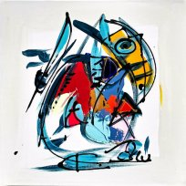 Fomalhaut by Luc Villard (2020) : Painting Acrylic on Canvas ...