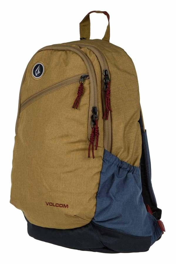 Volcom Substrate Backpack 26l Dark Khaki Skatedeluxe