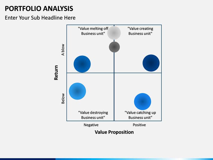 portfolio analysis template