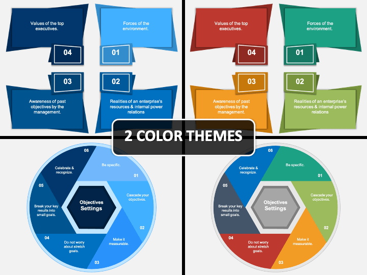 I will share with you 11 examples below so that you have an idea how the worksheet is going to be like. Objective Setting Powerpoint Template Ppt Slides Sketchbubble