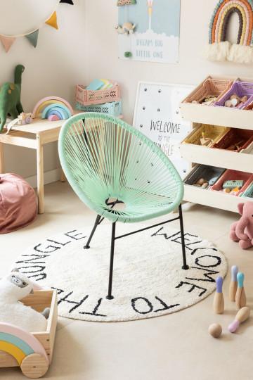 chaise pour enfants mini acapulco sklum