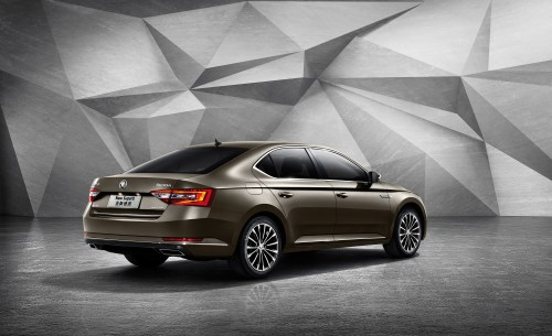 small resolution of new era new koda superb launched in china