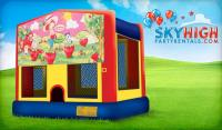 Strawberry Shortcake Bounce House | Sky High Party Rentals
