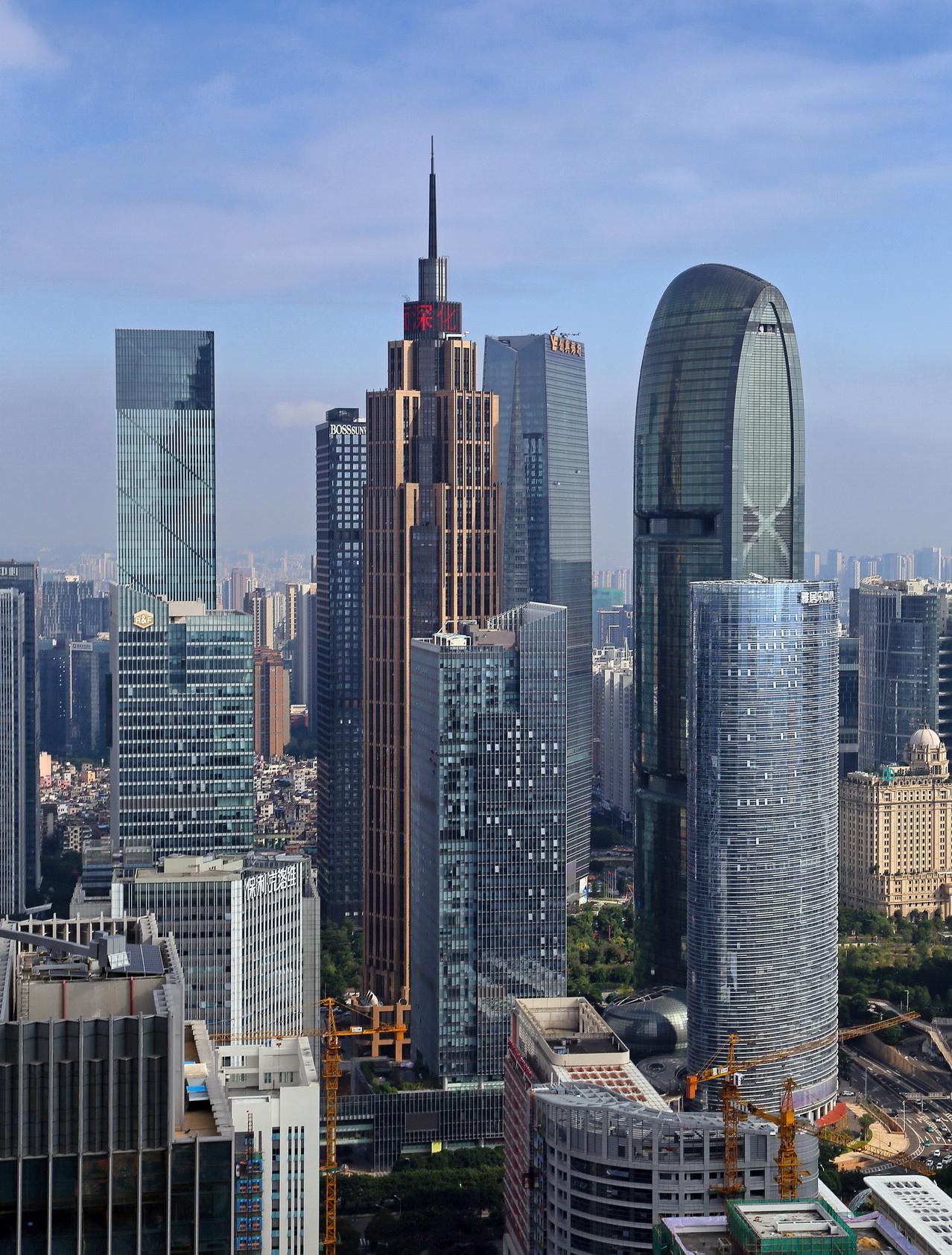 Viewfinder Guangzhou Skyscrapers Skyrisecities