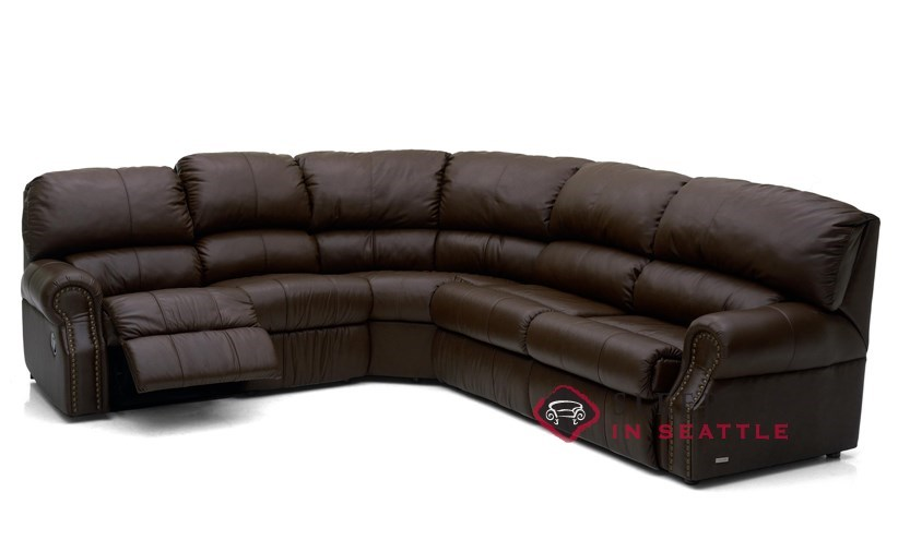 leather chair bed sleeper leap v2 vs v1 customize and personalize charleston by palliser true sectional reclining