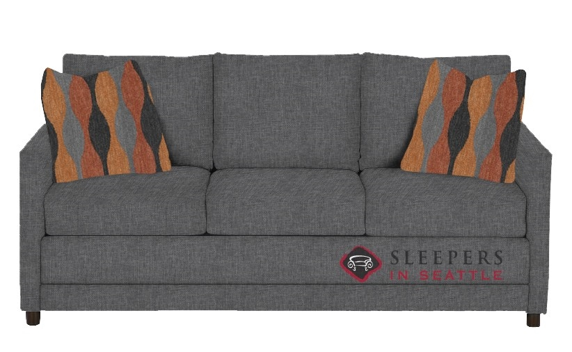 sleeper sofa under 200 large leather reclining sectional the stanton in jitterbug gray queen
