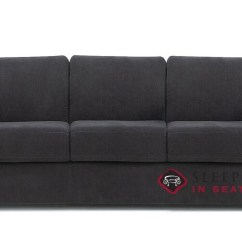 Queen Sleeper Sofa Memory Foam Mattress Heavy Duty Uk Customize And Personalize Roommate Fabric By Palliser My Comfort 3 Cushion In Heavenly Caviar