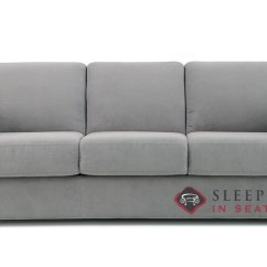 Sleeper Sofa Queen Mattress Designer Pillows For Customize And Personalize Sleepover Fabric By Palliser My Comfort 3 Cushion In Echosuede Charcoal