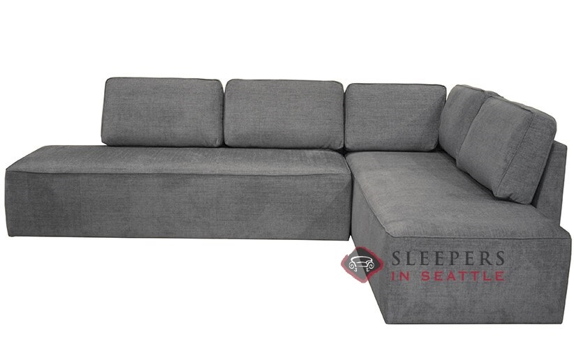 buy sofa bed new york kivik malaysia quick ship by luonto chaise sectional fabric laf sleeper with storage queen in naomi 213