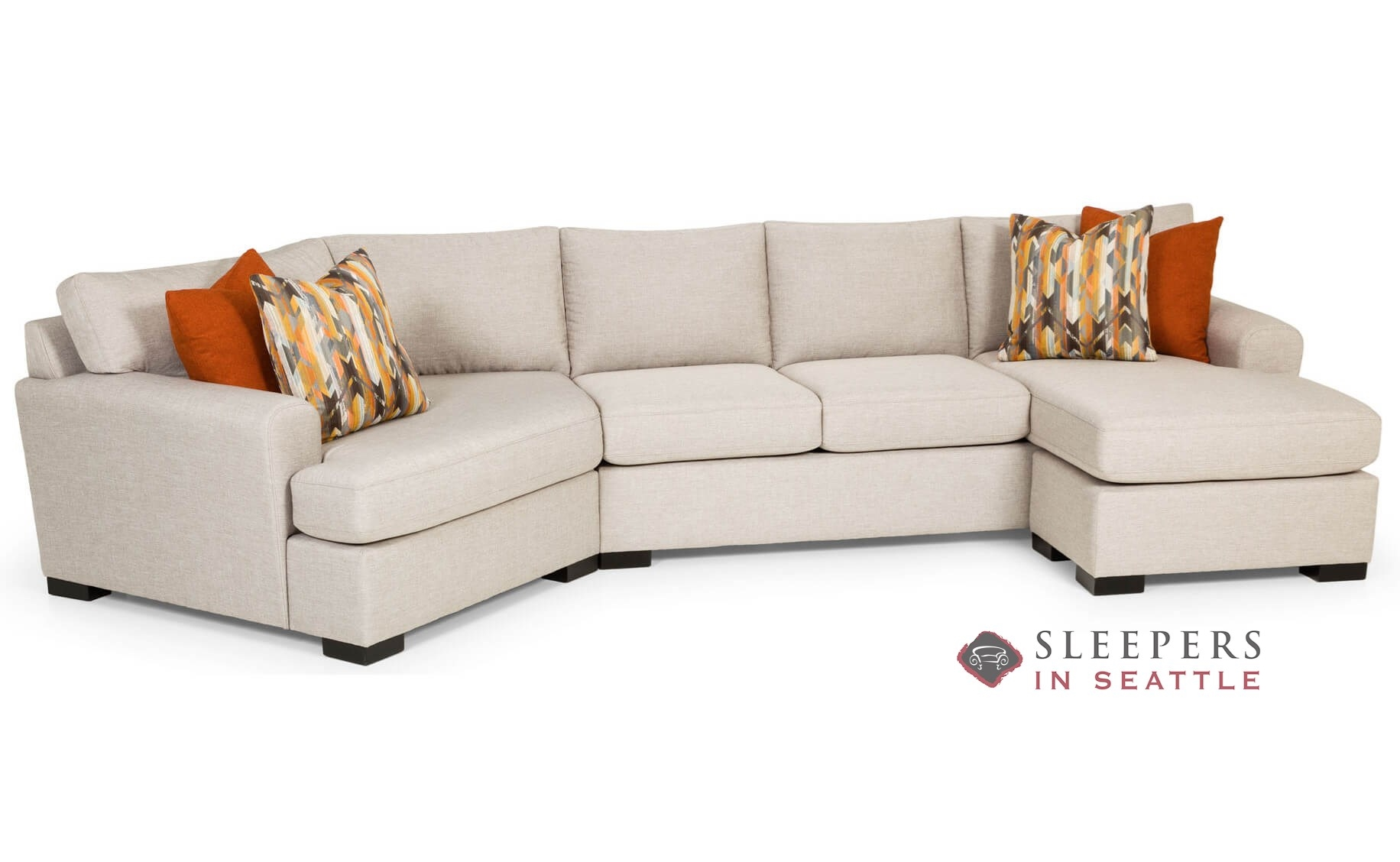 fabric queen sleeper chaise sofa bernhardt andrew customize and personalize 390 sectional