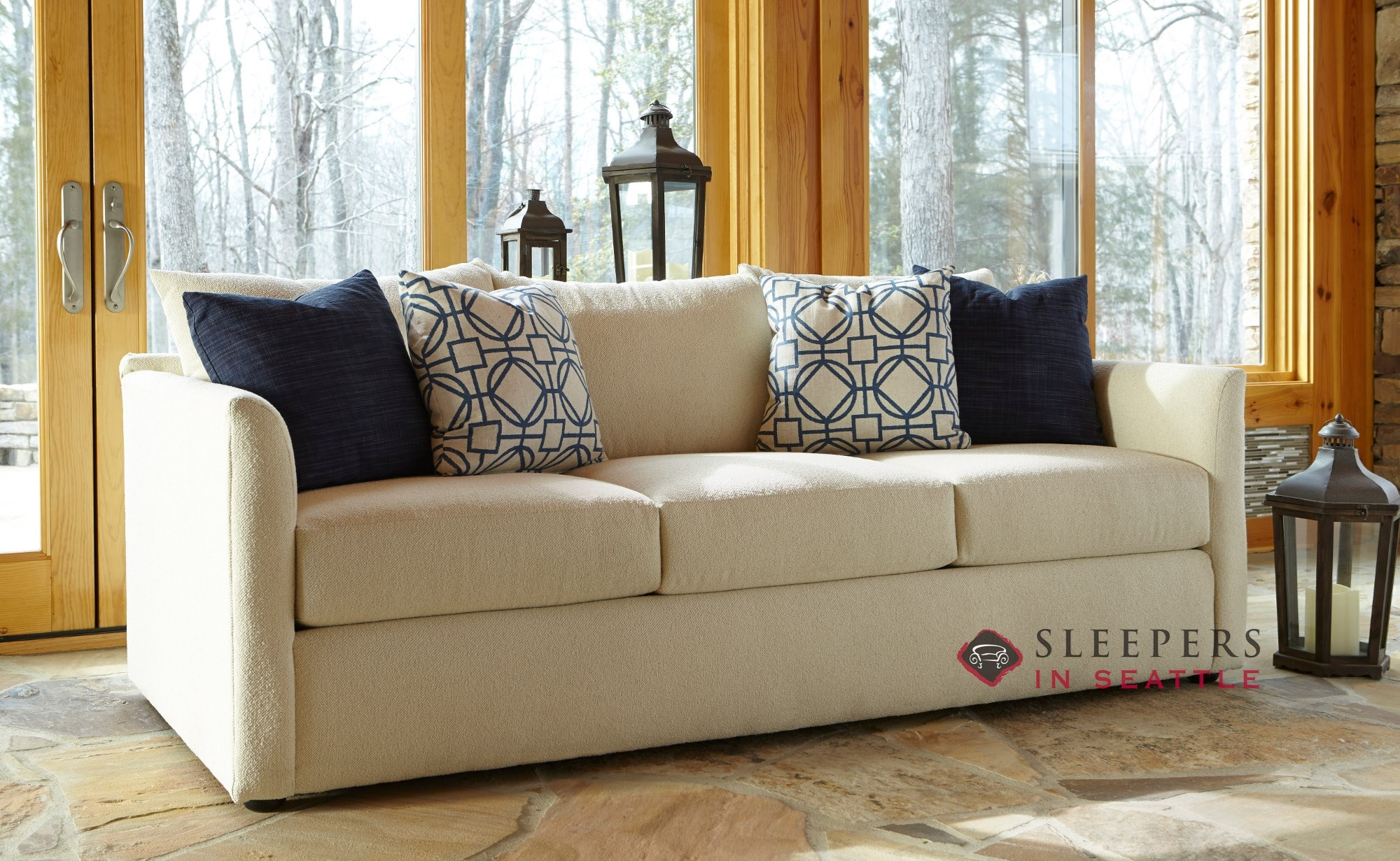 sleeper sofas atlanta sofia sofa bed customize and personalize aventura queen fabric by